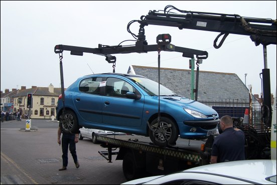 Image result for Vehicle removal